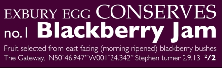 blackberryjam label